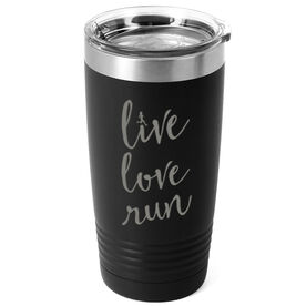 Running 20 oz. Double Insulated Tumbler - Live Love Run