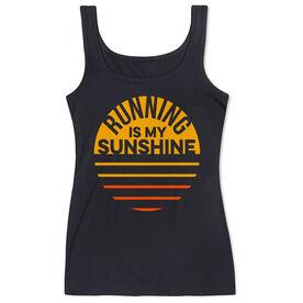 Running Women's Athletic Tank Top - Running is My Sunshine