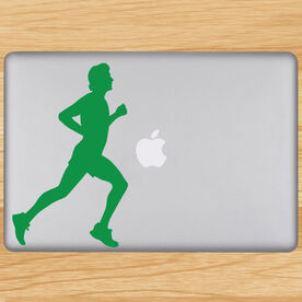 Running Guy Removable GoneForaRunGraphix Laptop Decal