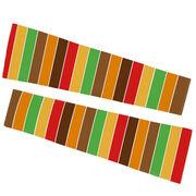 Printed Arm Sleeves - Turkey Stripes