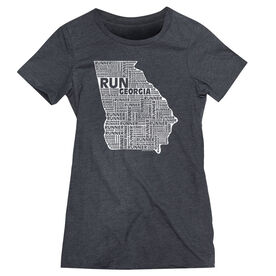 Women's Everyday Runners Tee Georgia State Runner