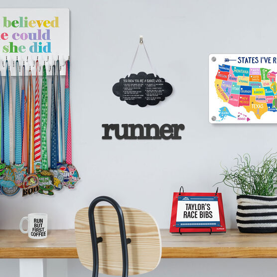 Running Cloud Sign - You Know You're A Runner When