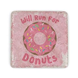 Running Stone Coaster Will Run for Donuts