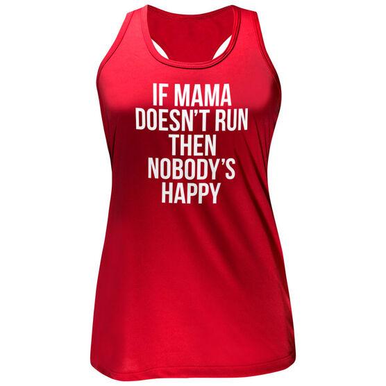 Women's Performance Tank Top - If Mama Doesn't Run
