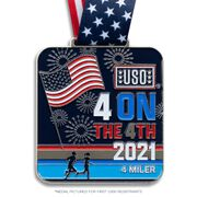 Virtual Race - USO Four on the 4th (2021)