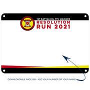 Virtual Race - 1st Battalion, 7th Marines Resolution Run (2021)