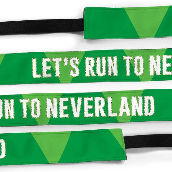 Running Julibands No-Slip Headbands - Let's Run To Neverland
