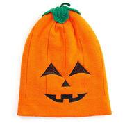 Happy Hatter Jack-O-Lantern Beanie Hat & Mask