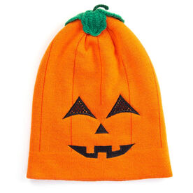 Happy Hatter Jack-O-Lantern Beanie Hat & Mask