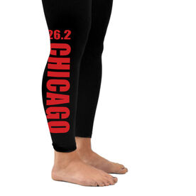 Runner's Leggings 26.2 Chicago