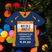 Running Ornament - 26.2 shirt