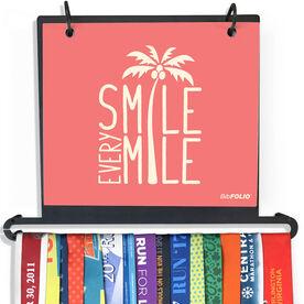 BibFOLIO Plus Race Bib and Medal Display - Smile Every Mile