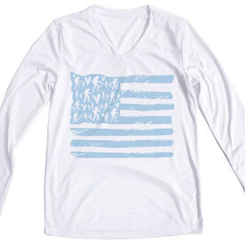 Women's Long Sleeve Tech Tee -  United States Of Hikers