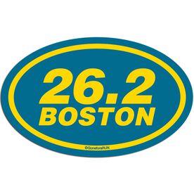 26.2 Boston Decal (Yellow/Blue)