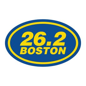 Boston 26.2 Vinyl Decal - No Year