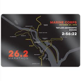 "Running 18"" X 12"" Aluminum Room Sign - Marine Corps 26.2 Route"