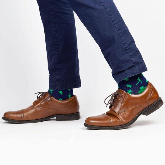 Men's Running Dress Socks - Lucky Run