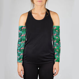 Running Printed Arm Sleeves - Flock It Just Run