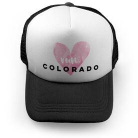Running Trucker Hat Run Colorado