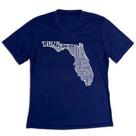 Women's Short Sleeve Tech Tee - Florida State Runner