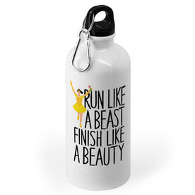 Running 20 oz. Stainless Steel Water Bottle - Run Like A Beast Finish Like A Beauty