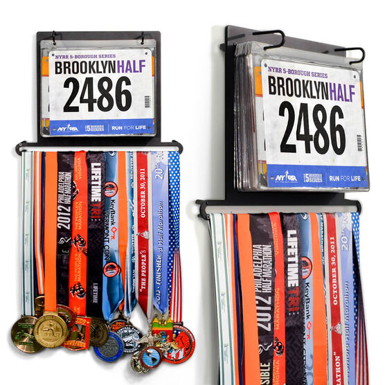 BibFOLIO+™ Race Bib and Medal Display