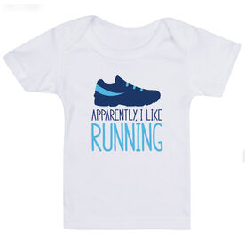 Running Baby T-Shirt - I'm Told I Like Running