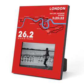 Running Photo Frame - London 26.2 Route