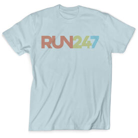 Vintage Running T-Shirt - Run 24/7