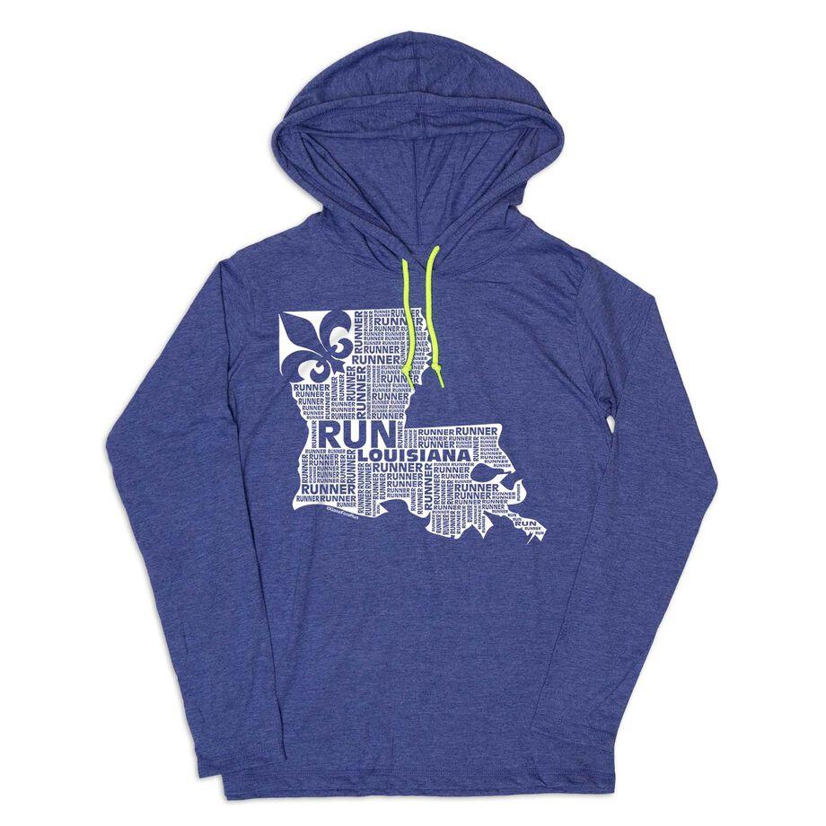 Women's Running Lightweight Hoodie - Louisiana State Runner