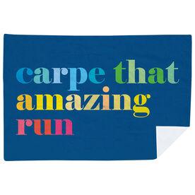 Running Premium Blanket - Carpe That Amazing Run