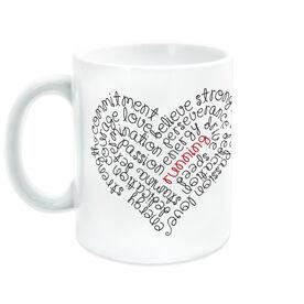 Running Coffee Mug - Inspiration Heart