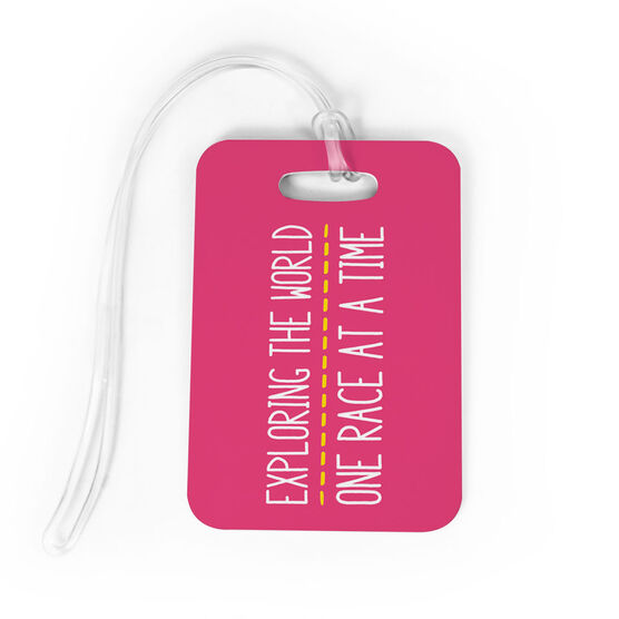Running Bag/Luggage Tag - Exploring The World One Race At A Time