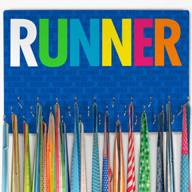 Running Hooked on Medals Large Medal Hanger Runner