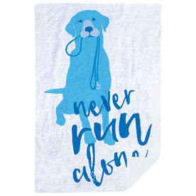 Running Premium Blanket - Never Run Alone