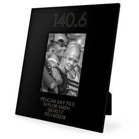 Triathlon Engraved Picture Frame - 140.6