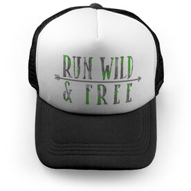 Running Trucker Hat - Run Wild & Free