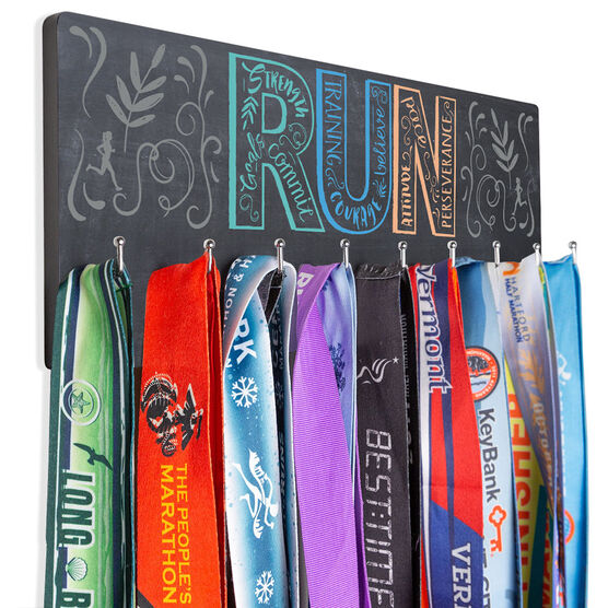Running Hooked on Medals Hanger - Run With Inspiration