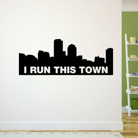 I Run This Town (Your City) GoneForaRunGraphix Wall Decal
