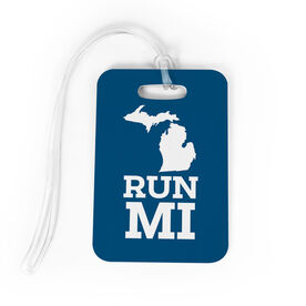 Bag/Luggage Tag Michigan State Runner