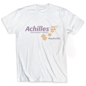 Vintage Tee - Achilles International-Nashville Logo