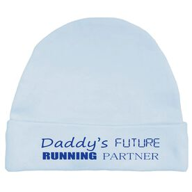 Daddy's Future Running Partner Baby Cap