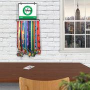 BibFOLIO+™ Race Bib and Medal Display - Pacific Northwest Ladies Running Group Logo