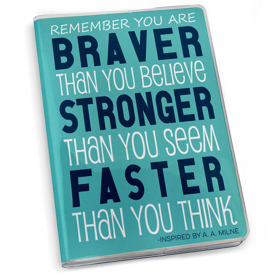 GoneForaRun Running Journal - You Are Braver Than You Believe