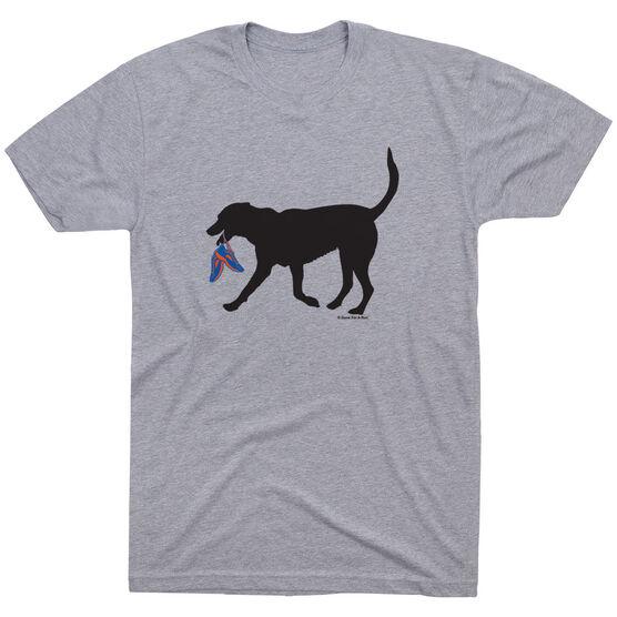 Running Short Sleeve T-Shirt - Rex the Running Dog