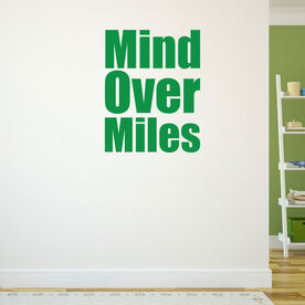 Mind Over Miles Removable GoneForARunGraphix Gone for a Run Wall Decal