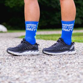 Socrates® Mid-Calf Performance Socks - Burning Off The Crazy