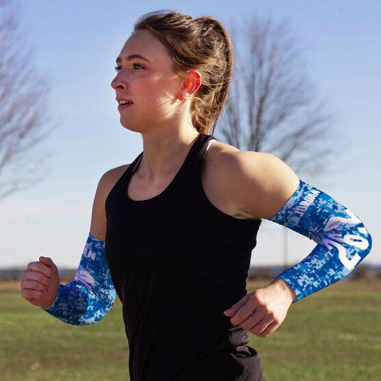 Running Printed Arm Sleeves - Twenty Six Point Two