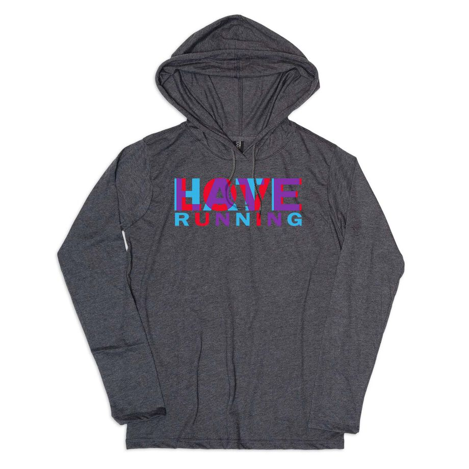 Men's Running Lightweight Hoodie - Love Hate Running