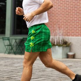 Guys Running Shorts - Luck Of The Runner